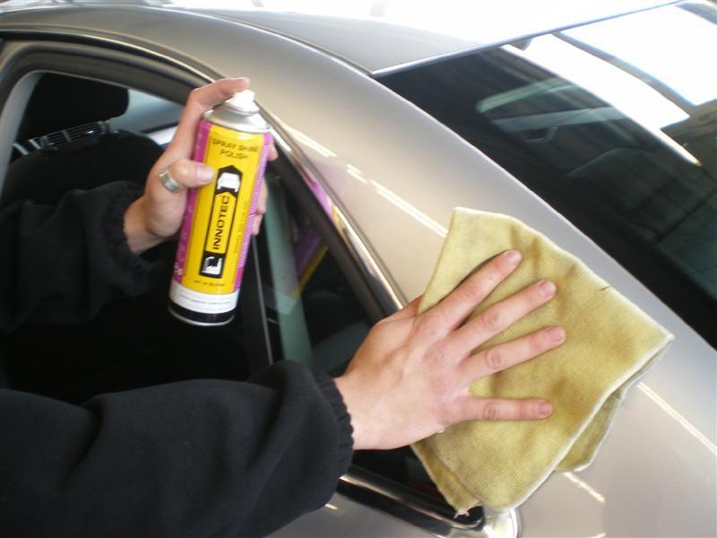 Spray Shine Polish Polieren Innotec Produkte Produkte